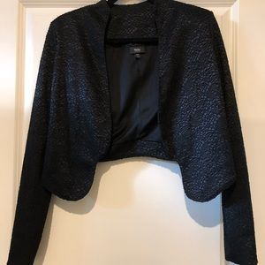Lace pattern blazer